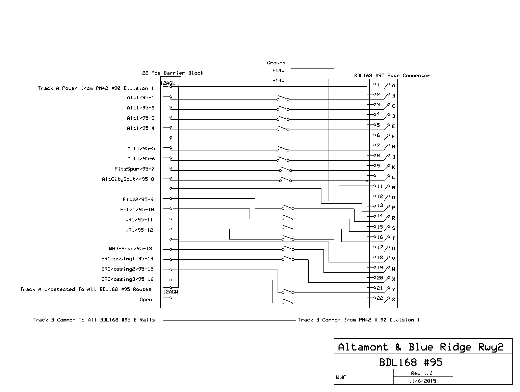 tutorial     bds  dcc bdl 168 wiring diagram